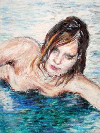 Zeichnung, Ölmalerei, Kreide, Pastellmalerei