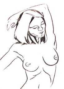 Zeichnungkohle, Zeichnungen
