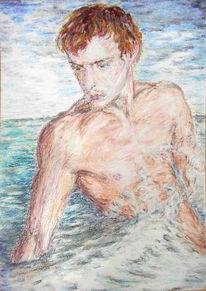 Ölmalerei, Kreide, Pastellmalerei, Zeichnung