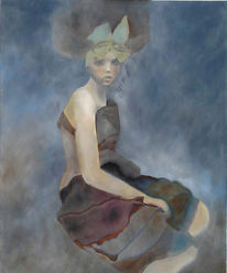 Malerei, Portrait, Figural,