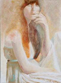 Portrait, Figural, Malerei,