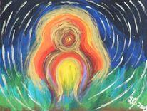 Colorgetics, Himmel, Geist, Malerei