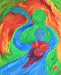 Liebe, Lebenslust, Colorgetics, Leidenschaft
