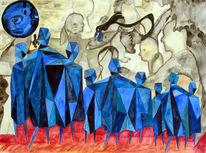 Pilger, Malerei, Surreal