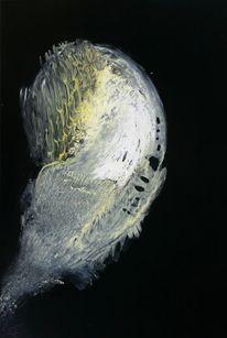 Abstrakt, Malerei, Schwarz