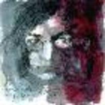 Abstrakt, Stahl, John lennon, Grafik