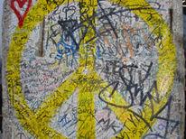 Grafikdesign, Abstrakt, Ölmalerei, Beschriftung