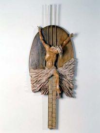 Kunsthandwerk, Kreuzigung, Holz