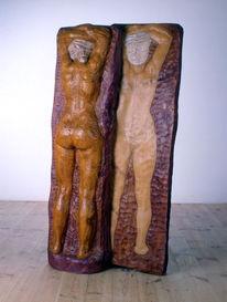 Relief, Holz, Kunsthandwerk