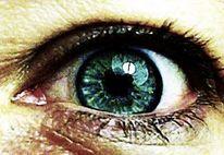 Fotografie, Blau, Augen, Portrait