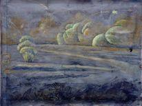 Wolken, Weltkrieg, Katastrophe, Landschaft