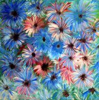 Sommer, Blau, Freestyle, Blumen