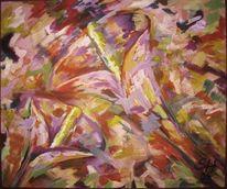Blüte, Calla, Malerei