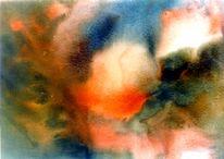Malerei, Galaxie, Entstehung