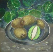Früchte, Stillleben, Malerei