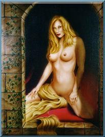 Figural, Rapunzel, Malerei