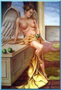 Figural, Engel, Malerei