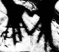 Herz, Fotografie, Felsen, Schatten