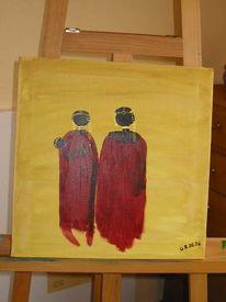 Malerei, Afrika, Figural