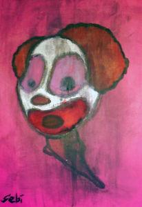Malerei, Clown
