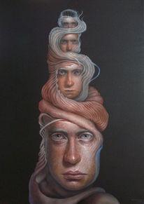 Malerei, Dimension