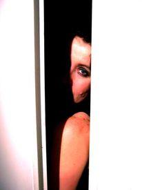 Menschen, Fotografie, Versteck