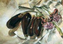 Malerei, Stillleben, Iris