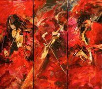 Malerei, Geige