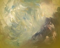 Sonne, Abstrakt, Anfang, Malerei