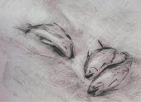 Zeichnung, Tiere, Fische, Zeichnungen