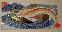 Mosaik, Wandbild, Keramik, Kunsthandwerk