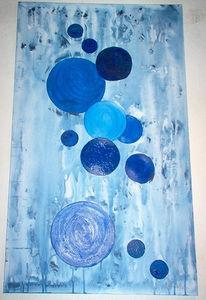 Weiß, Abstrakt, Malerei, Kreis