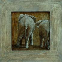 Elefant, Wildlife realistisch, Hübsche, Realismus