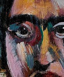 Malerei, Acrylmalerei, Kopf