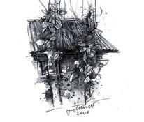 Grafik, Skizze, Thailand