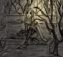 Skizze, Vergessen, Hoffnungslosigkeit, Melancholie