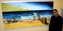 Wasser, Sommer, Strand, Stein