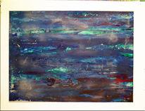 Spachtel, Acrylmalerei, Gemälde, Farben