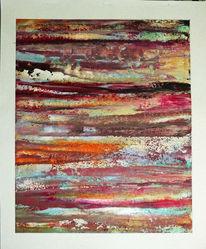 Spachtel, Farben, Abstrakt, Formen