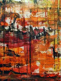 Spachtel, Acrylmalerei, Gemälde, Abstrakt