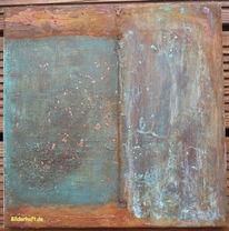 Abstrakt, Struktur, Rost, Draht