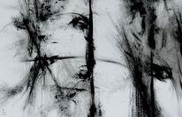 Schwarzweiß, Surreal, Malerei