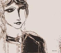 Gesicht, Blick, Augen, Zeichnungen