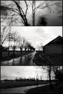 Straße, Schwarzweiß, Fotografie, Zeit