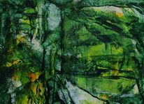 Grün, Farben, Malerei