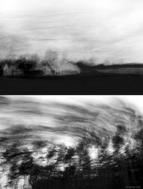 Schwarzweiß, Natur, Sturm, Fortbewegung