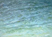 Sommer, Wasser, Welle, Bodensee