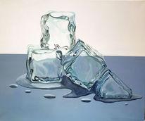 Eiswürfel, Kalt, Eis, Transparenz