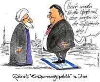 Israel, Iran, Wirtschaft, Zeichnungen