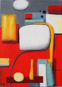 Fläche, Acrylmalerei, Gegenstände, Abstrakt